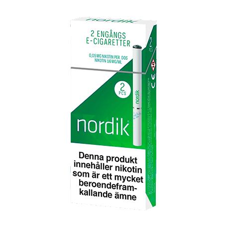nordik e cigarett menthol